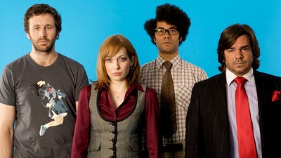 Protagonistas de The IT Crowd